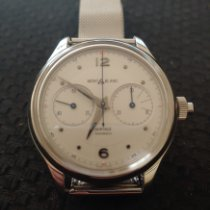 Montblanc Heritage Chronométrie Steel 42mm White United States of America, New Jersey, Rahway