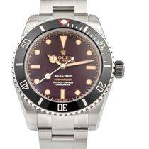 Rolex Submariner (No Date) Steel 39mm Brown No numerals United States of America, New York, New York