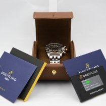 Breitling Chronomat 44 Steel 44mm Black Roman numerals United States of America, New York, NYC