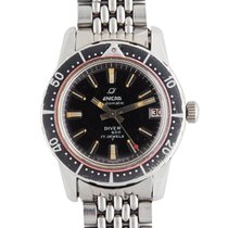 Enicar Steel 36mm Automatic Sherpa pre-owned United States of America, New York, New York