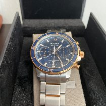 Bulova Marine Star Steel 45mm Blue No numerals United States of America, Tennesse, knoxville