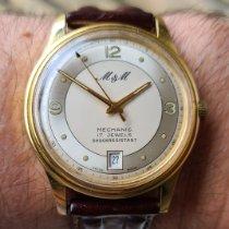 M&M Swiss Watch Gold/Steel 38mm Manual winding pre-owned