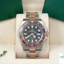 Rolex 126711CHNR Gold/Steel 2020 GMT-Master II 40mm pre-owned United States of America, California, Los Angeles