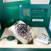 Rolex 126711CHNR Gold/Steel 2021 GMT-Master II 40mm pre-owned United States of America, New Jersey, Totowa
