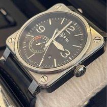 Bell & Ross BR 03-97 Réserve de Marche Steel Black Arabic numerals