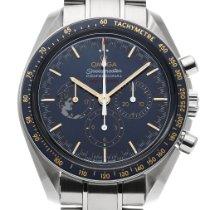 Omega Speedmaster Professional Moonwatch usados 42mm Azul Cronógrafo Acero