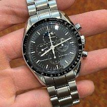 歐米茄 Speedmaster Professional Moonwatch Moonphase 鋼 42mm 黑色 無數字