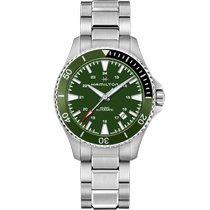 Hamilton Khaki Navy Scuba new 2021 Automatic Watch with original box and original papers H82375161