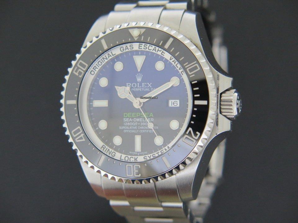 Rolex Sea-Dweller Deepsea 116660 2017 подержанные