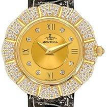 Montega Yellow gold 29mm Quartz MONTEGA-GOLD-DIAMOND-WATCH pre-owned United States of America, California, Moorpark