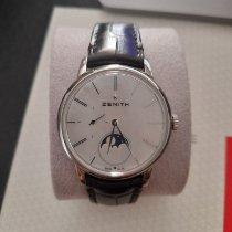 Zenith Elite Ultra Thin Acier 36mm Nacre Sans chiffres France, MOUGINS