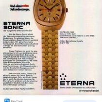 Eterna Yellow gold 35mm Quartz 6088989 pre-owned