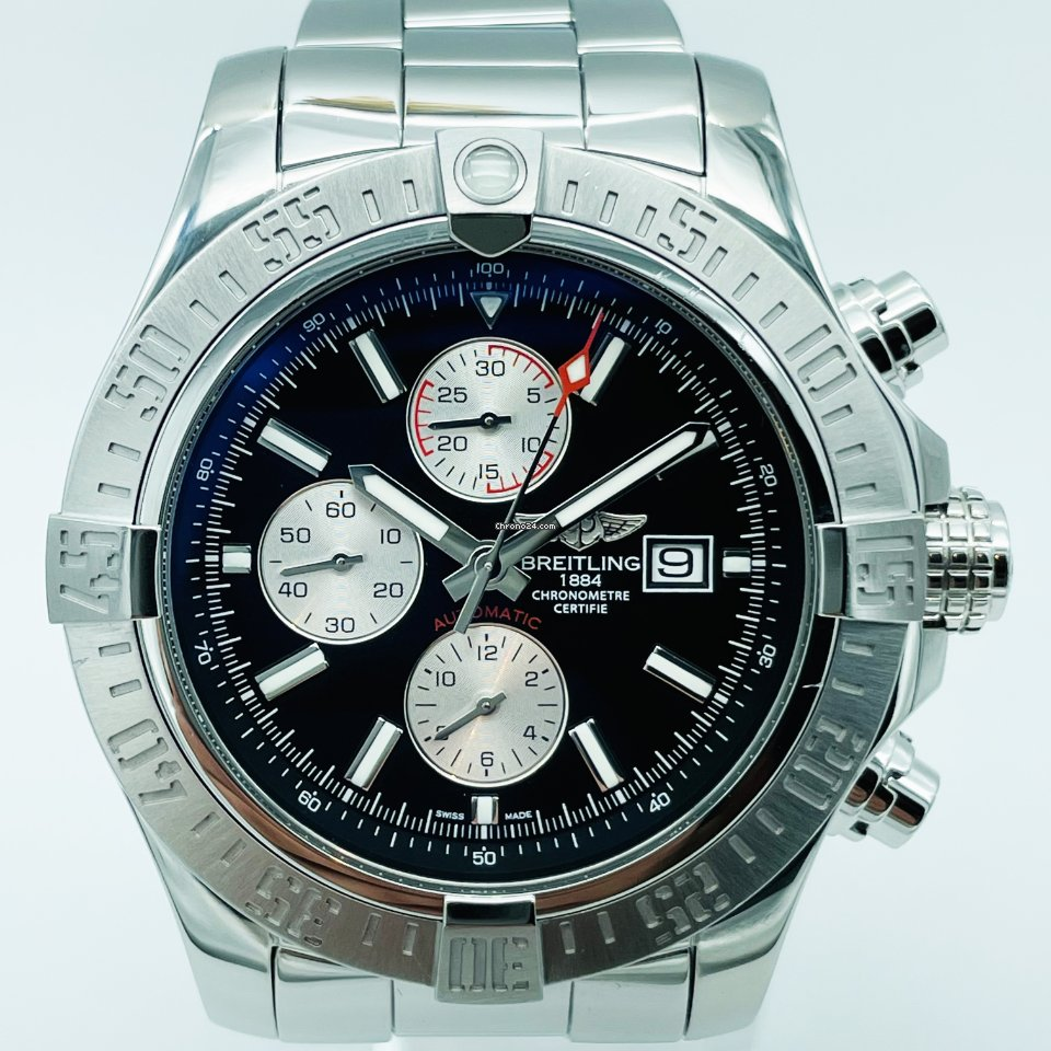 Breitling Super Avenger II A1337111/BC29/168A 2016 pre-owned