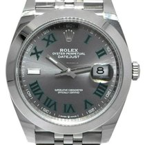 Rolex Datejust Steel 41mm Grey Roman numerals UAE, Dubai