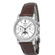 Patek Philippe Perpetual Calendar Chronograph Platine 36mm Argent