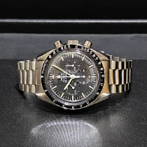Omega Speedmaster Professional Moonwatch Steel 42mm Black No numerals Singapore