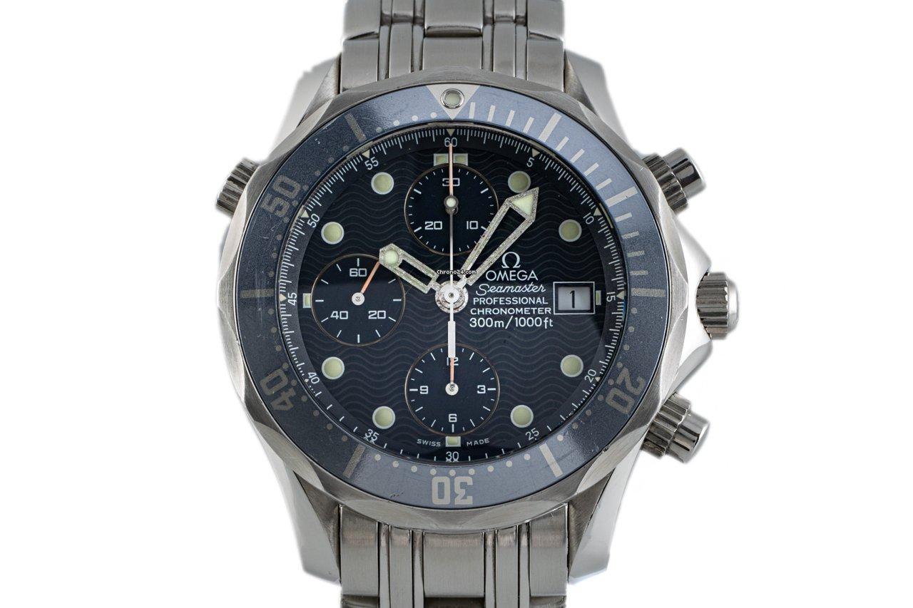 Omega Seamaster Diver 300 M 2599.80.00 2004 usados