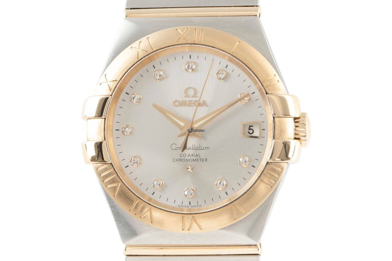 Omega Constellation Ladies 123.20.35.20.52.002 2016 pre-owned