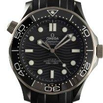 Omega Cerámica Automático Gris 43.5mm usados Seamaster Diver 300 M