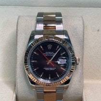 Rolex Datejust Turn-O-Graph Steel 36mm Black No numerals United Kingdom, county durham