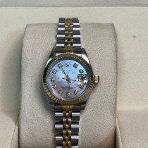 Rolex Lady-Datejust 69173 Bom Ouro/Aço 26mm Automático