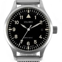 Vollmer Steel 37,5mm Automatic Vollmer ITB3 Small Size new