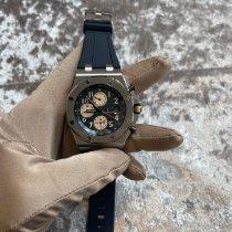 Audemars Piguet 26470ST.OO.A027CA.01 Staal 2017 Royal Oak Offshore Chronograph 42mm tweedehands