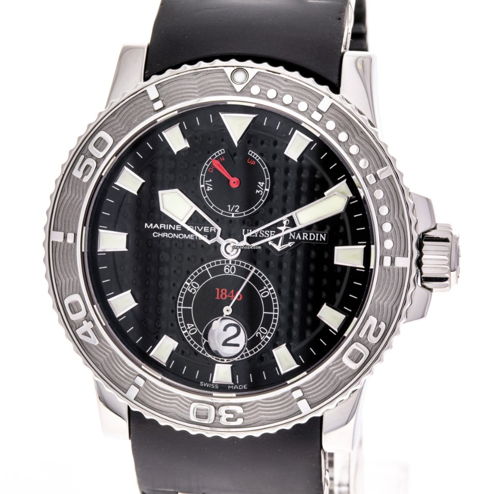 Ulysse Nardin Maxi Marine Diver 263-33 2005 подержанные