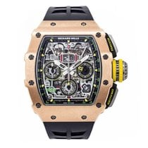 Richard Mille Rose gold 49.94mm Automatic RM011-03 new