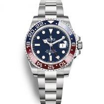 Rolex (ロレックス) GMT マスター II ホワイトゴールド 40mm ブルー