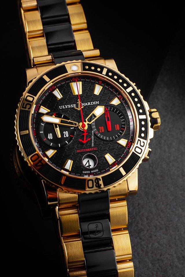 Ulysse Nardin Maxi Marine Diver 8006-102. 2015 подержанные