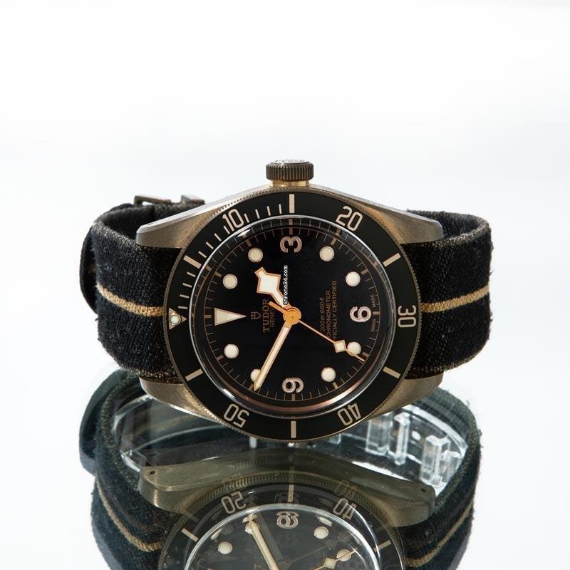 Tudor Black Bay Bronze 79250ba 2021 pre-owned