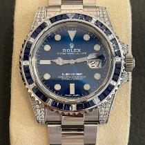 Rolex (ロレックス) サブマリーナ デイト ステンレス 40mm ブルー 文字盤無し