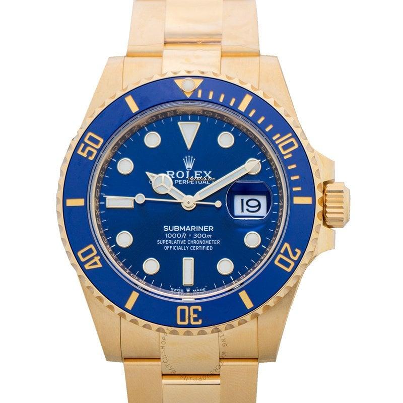 Rolex Submariner Date 126618LB 2021 new