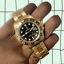 Rolex GMT-Master II 116718LN Bueno Oro amarillo 40mm Automático
