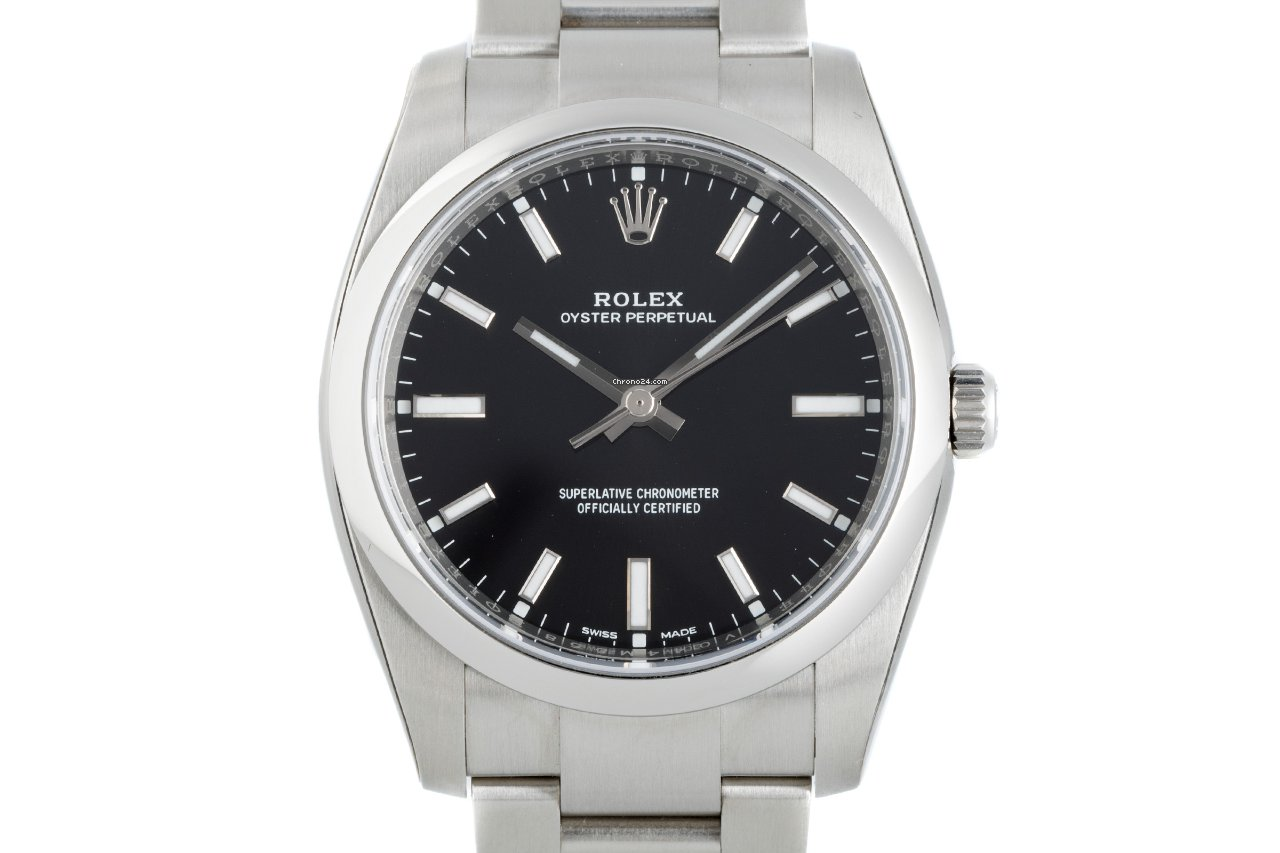Rolex Oyster Perpetual 34 114200 2020 новые