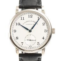 A. Lange & Söhne pre-owned Manual winding 38.5mm Silver Sapphire crystal