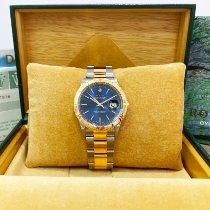 Rolex Datejust Turn-O-Graph Gold/Steel 36mm Blue United States of America, California, Pasadena