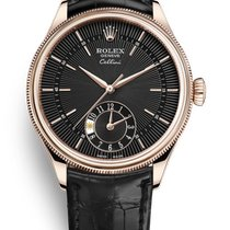 Rolex Cellini Dual Time Rose gold 39mm Black United States of America, Florida, Sunny Isles Beach