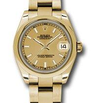 Rolex 178248 Or jaune 2021 Lady-Datejust 31mm nouveau