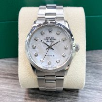 Rolex Air King Precision Steel 34mm Silver No numerals United States of America, Texas, Houston