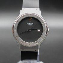 Hublot Classic Stahl 36mm Schwarz Keine Ziffern