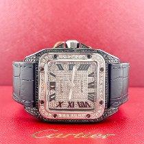 Cartier Santos 100 Titanium Black Roman numerals United States of America, California, Pleasanton
