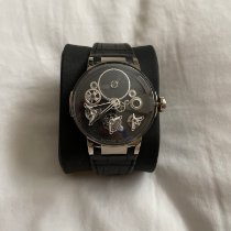Ulysse Nardin White gold Manual winding Black 44mm pre-owned Executive