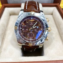 Breitling Chronomat 44 Gold/Steel 44mm Brown Roman numerals United States of America, Texas, Houston