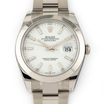 Rolex Datejust Steel 41mm White No numerals United States of America, Florida, Hollywood