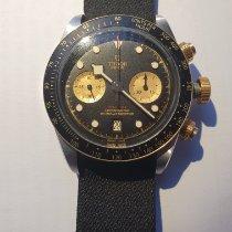 Tudor Black Bay Chrono Acero y oro 41mm Negro Sin cifras