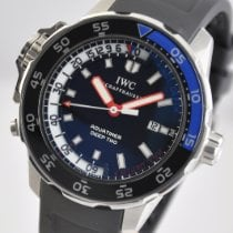 IWC Aquatimer Deep Two Acero 46mm Negro Sin cifras