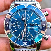 Breitling Superocean Heritage II Chronographe Steel 44mm Blue No numerals United States of America, Texas, Plano