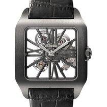 Cartier Titanium Manual winding Transparent new Santos Dumont